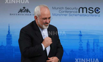 အီရန္ ႏိုင္ငံျခားေရးဝန္ႀကီး Mohammad Javad Zarif ပံု (ဆင္ဟြာ)