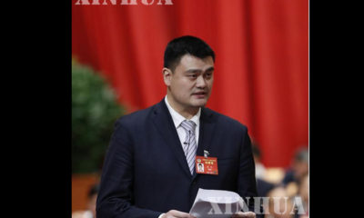 ၁၂ ႀကိမ္ေျမာက္ CPPCC အစည္းအေဝးတြင္ ညီလာခံ ကိုယ္စားလွယ္ ေယာင္မင္းအား မတ္လ ၁၀ ရက္က ေတြ႕ရစဥ္ (ဆင္ဟြာ)