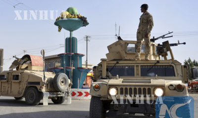 အာဖဂန္နစၥတန္ႏုိင္ငံတြင္ လံုျခံဳေရးကင္းလွည့္ေနေသာ အာဖဂန္တပ္ဖြဲ ့ဝင္မ်ားအားေတြ ့ရစဥ္(ဆင္ဟြာ)