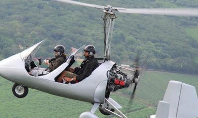 ၾသစေၾတလ်ႏိုင္ငံတြင္ ပ်က္က်ခဲ့သည့္ အေသးစားေလယာဥ္ (Gyrocopter) ႏွင့္ ပံုစံတူတစ္စီးအားေတြ႕ရစဥ္ (ဓါတ္ပံု-အင္တာနက္)