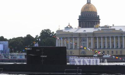 ရုရှားနိုင်ငံရေတပ်မှ နျူကလီးယားစွမ်းအင်သုံးရေငုပ်သင်္ဘောတစ်စင်း တပ်တော်ဝင်စဉ်(ဆင်ဟွာ)