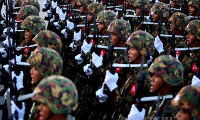 ၂၀၁၉ ခုနှစ်တွင် ကျင်းပပြုလုပ်ခဲ့သော တပ်မတော်နေ့ အခမ်းအနားအား တွေ့ရစဉ်(ဆင်ဟွာ)