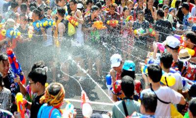 ဘန်ကောက်မြို့၌ ၂၀၁၉ ခုနှစ်တွင် ကျင်းပခဲ့သော ဆွန်ခရန် ရေကစားပွဲတော်အား တွေ့ရစဉ်(ဆင်ဟွာ)