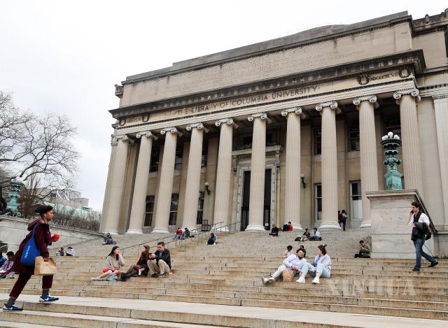 - အမေရိကန်နိုင်ငံ နယူးယောက်မြို့ရှိ ကိုလံဘီယာတက္ကသိုလ်ကျောင်းမြင်ကွင်းအား မတ် ၁၀ ရက် က တွေ့ရစဉ်(ဆင်ဟွာ)