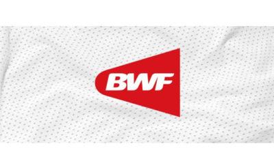 ကမ္ဘာ့ ကြက်တောင် အဖွဲ့ချုပ် logo အား မြင်တွေ့ရစဉ်(ဓာတ်ပုံ- ကမ္ဘာ့ ကြက်တောင် အဖွဲ့ချုပ်)