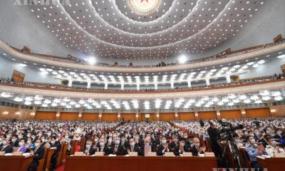 ၁၃ ကြိမ်မြောက် အမျိုးသားပြည်သူ့ကွန်ဂရက် (NPC) တတိယ ကြိမ်မြောက် အစည်းအဝေး ကျင်းပ ပြုလုပ်နေစဉ်(ဆင်ဟွာ)