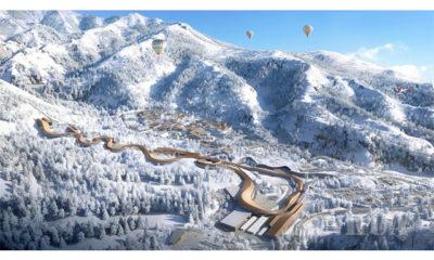 တရုတ်နိုင်ငံ ပေကျင်းမြို့ရှိ ၂၀၂၂ ဆောင်းရာသီအိုလံပစ်အားကစားပွဲများအတွက် National Sliding Center ပြင်ဆင်နေသည်ကို မတ် ၄ ရက်က တွေ့ရစဉ် (ဆင်ဟွာ)