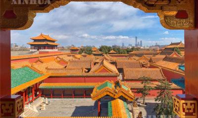 တရုတ်နိုင်ငံ ပေကျင်းမြို့တော်ရှိ နန်းတော်ပြတိုက်အား တွေ့ရစဉ် (ဆင်ဟွာ)