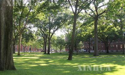 အမေရိကန် နိုင်ငံ ရှိ ဟားဗက်တက္ကသိုလ် အား မြင်တွေ့ရစဉ်(ဆင်ဟွာ)