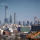 တရုတ်နိုင်ငံ ပေကျင်းမြို့တော်ရှိ Central Business District (CBD) ရှိ မိုးမျှော်တိုက်များအား တွေ့ရစဉ် (ဆင်ဟွာ)