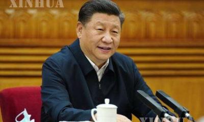 တရုတ်နိုင်ငံ သမ္မတ ရှှီကျင့်ဖိန်အား တွေ့ရစဉ် (ဆင်ဟွာ)