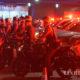 ထိုင်းနိုင်ငံ ဘန်ကောက်မြို့တွင် ဧပြီ ၃ ရက် ညပိုင်းက ရဲတပ်ဖွဲ့ဝင်အချို့ကင်းလှည့်နေသည်ကိုတွေ့ရစဉ်(ဆင်ဟွာ)