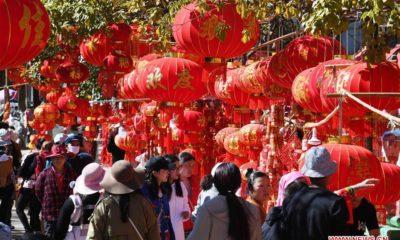 ၂၀၁၉ခုနှစ်တွင် ကျင်းပခဲ့သည့် Kunming Spring Festival Shopping Expo မြင်ကွင်းအားတွေ့ရစဉ် (ဆင်ဟွာ)