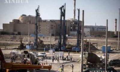 အီရန်နိုင်ငံ တောင်ပိုင်း Bushehr မြို့ရှိ Bushehr နျူကလီးယားဓာတ်အားပေးစက်ရုံ ဒုတိယအဆင့် တည်ဆောက်ရေး လုပ်ငန်းခွင်ကို တွေ့ရစဉ် (ဆင်ဟွာ)