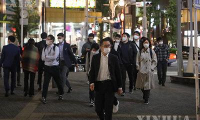 ဂျပန်နိုင်ငံ တိုကျိုမြို့၏မြင်ကွင်းတစ်နေရာအား အောက်တိုဘာ ၃၀ ရက်က တွေ့ရစဉ် (Xinhua/Du Xiaoyi)