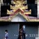 ရန်ကုန်မြို့တွင်း နှာခေါင်းစည်း တပ်ဆင်သွားလာသူများအား တွေ့ရစဉ်(ဆင်ဟွာ)