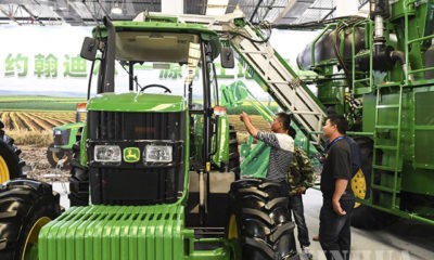 ၂၀၁၉ ခုနှစ်တွင် ကျင်းပခဲ့သည့် တရုတ်- အာဆီယံ သကြားထုတ်ကုန်၊ သကြားစိုက်ပျိုးရေးဆိုင်ရာ စက်အပိုပစ္စည်းပြပွဲအားတွေ့ရစဉ် (ဆင်ဟွာ)