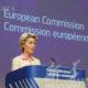 ဒီဇင်ဘာ ၂၄ ရက် ၌ ဘရပ်ဆဲလ်တွင် ကျင်းပပြုလုပ်သော သတင်းစာရှင်းလင်းပွဲတွင် ဥရောပကော်မရှင်ဥက္ကဋ္ဌ Ursula von der Leyen အားမြင်တွေ့ရစဉ်(ဆင်ဟွာ)