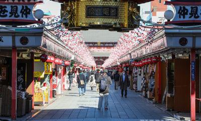 အရေးပေါ်အခြေအနေနည်းလမ်းများ ဆောင်ရွက်ပြီးနောက် ဂျပန်နိုင်ငံ တိုကျိုမြို့၏ မြင်ကွင်းများအား ဇန်နဝါရီ ၉ ရက်က တွေ့ရစဉ်(ဆင်ဟွာ)