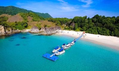 စမတ်ကျွန်း ရေပေါ်တံတားအားတွေ့ရစဉ် (ဓာတ်ပုံ--မြိတ်ခရီးသွားလုပ်ငန်းရှင်များအသင်း)