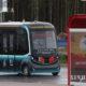 ဘီလာရုစ်နိုင်ငံ မြို့တော် မင့်စ်ခ် မြို့ပြင်ရှိ တရုတ်-ဘီလာရုစ် စက်မှုဇုန်တွင် မောင်းသူမဲ့ယာဉ် တစ်စင်း လမ်းပေါ်တွင်မောင်းနှင်နေသည်ကို မြင်တွေ့ရစဉ် (ဆင်ဟွာ)