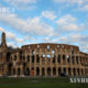 အီတလီနိုင်ငံ ရောမမြို့ရှိ Colosseum ခန်းမကြီးတွင် ခရီးသွားဧည့်သည်အနည်းငယ်ကိုသာ တွေ့ရစဉ် (ဆင်ဟွာ)