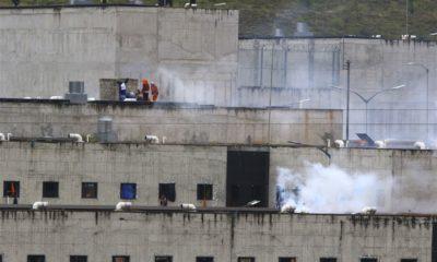 အီကွေဒေါနိုင်ငံတွင် ထောင်ဆူမှုဖြစ်ပွားနေစဉ်(ဓာတ်ပုံ-အင်တာနက်)