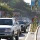 ဟေတီနိုင်ငံ၏ မြို့တော် Port-au-Prince တွင် မော်တော်ယာဥ်များ သွားလာနေသည်ကိုတွေ့ရစဉ် (ဆင်ဟွာ)