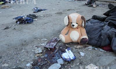 အီရတ်နိုင်ငံဘဂ္ဂဒတ်မြို့ရှိဈေးတစ်ခုတွင် ၂၀၂၁ ခုနှစ် ဇန်နဝါရီ ၂၁ရက်က အသေခံဗုံးခွဲတိုက်ခိုက်မှုကြောင့် အပျက်အစီးပုံအားတွေ့ရစဉ်(ဆင်ဟွာ)