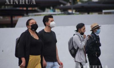 မက္ကဆီကိုနိုင်ငံ၌ နှာခေါင်းစည်း တပ်ဆင်သွားလာသူများအား ၂၀၂၀ ပြည့်နှစ် စက်တင်ဘာလအတွင်း တွေ့ရစဉ်(ဆင်ဟွာ)