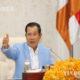 ကမ္ဘောဒီးယားနိုင်ငံ ဝန်ကြီးချုပ် Samdech Techo Hun Sen အား တွေ့ရစဉ် (ဆင်ဟွာ)