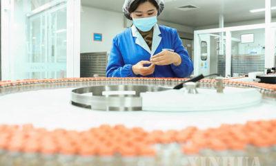 တရုတ်နိုင်ငံ ပေကျင်းမြို့ရှိ တရုတ်ဇီဝဆေးဝါးထုတ်လုပ်ရေးကုမ္ပဏီတွင် Sinovac Biotech ကိုဗစ်ကာကွယ်ဆေးများ ထုတ်ပိုးနေသည်ကို ၂၀၂၀ ပြည့်နှစ် ဒီဇင်ဘာ ၂၃ ရက်က တွေ့ရစဉ်(ဆင်ဟွာ)