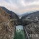 တရုတ်နိုင်ငံရှိ ပိုင်ဟဲ့ထန်းရေအားလျှပ်စစ်စက်ရုံ၏ မြင်ကွင်းများအား ဖေဖော်ဝါရီ ၉ ရက်က တွေ့ရစဉ်(ဆင်ဟွာ)